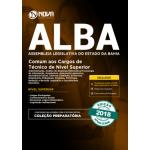 Apostila ALBA 2018 - Comum aos Cargos de Técnico de Nível Superior