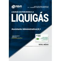 Apostila LIQUIGÁS 2018 - Assistente Administrativo(a) I