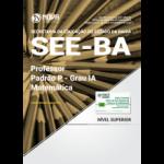 Apostila SEE-BA 2017 - Professor Padrão P - Grau IA - Matemática