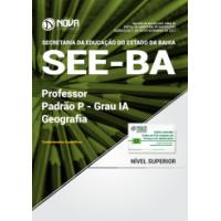 Apostila SEE-BA 2017 - Professor Padrão P – Grau IA - Geografia