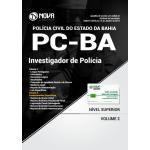 Apostila Polícia civil PC-BA 2018 - Investigador de Polícia