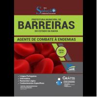 Apostila Prefeitura de Barreiras - BA - 2019 - Agente de Combate à Endemias