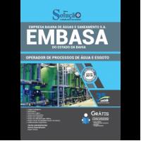 Apostila EMBASA-BA - 2019 - Operador de Processo de Água e de Esgoto