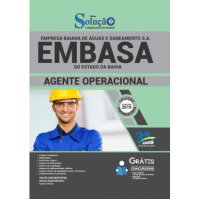 Apostila EMBASA-BA - 2019 - Agente Operacional