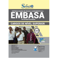 Apostila EMBASA-BA - 2019 - Comum aos Cargos de Nível Superior