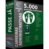 Passe Já - 5.000 questões - Carreiras Administrativas