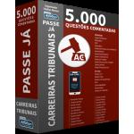 Passe Já - 5.000 questões - Carreiras Tribunais
