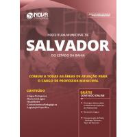 Apostila Prefeitura de Salvador - BA 2019 - Comum a Todas as Áreas de Atuação para o Cargo de Professor Municipal