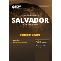 Apostila Prefeitura de Salvador - BA 2019 - Ciências