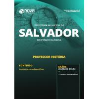 Apostila Prefeitura de Salvador - BA 2019 - História