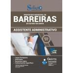 Prefeitura Municipal de Barreiras Ba - Assistente Administrativo