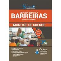 Apostila Prefeitura de Barreiras - BA - 2019 - Monitor de Creche