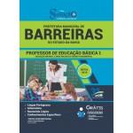 Apostila Prefeitura de Barreiras - BA - 2019 - Professor de Educação Básica I