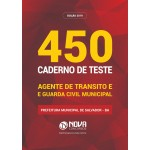 450 Questões Caderno de Teste Agente de Transito e Guarda Civil Municipal
