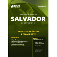 Apostila Prefeitura de Salvador - BA 2019 - Agente de Trânsito e Transporte