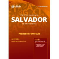 Apostila Prefeitura de Salvador - BA 2019 - Professor Português