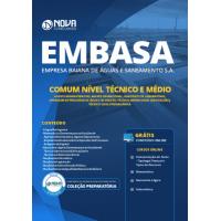 Apostila EMBASA 2019 - Comum aos Cargos de Nível Técnico e Médio