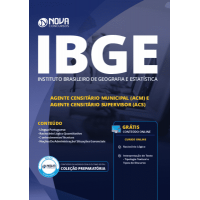 Apostila IBGE 2019 - Agente Censitário Municipal (ACM) e Agente Censitário Supervisor (ACS)